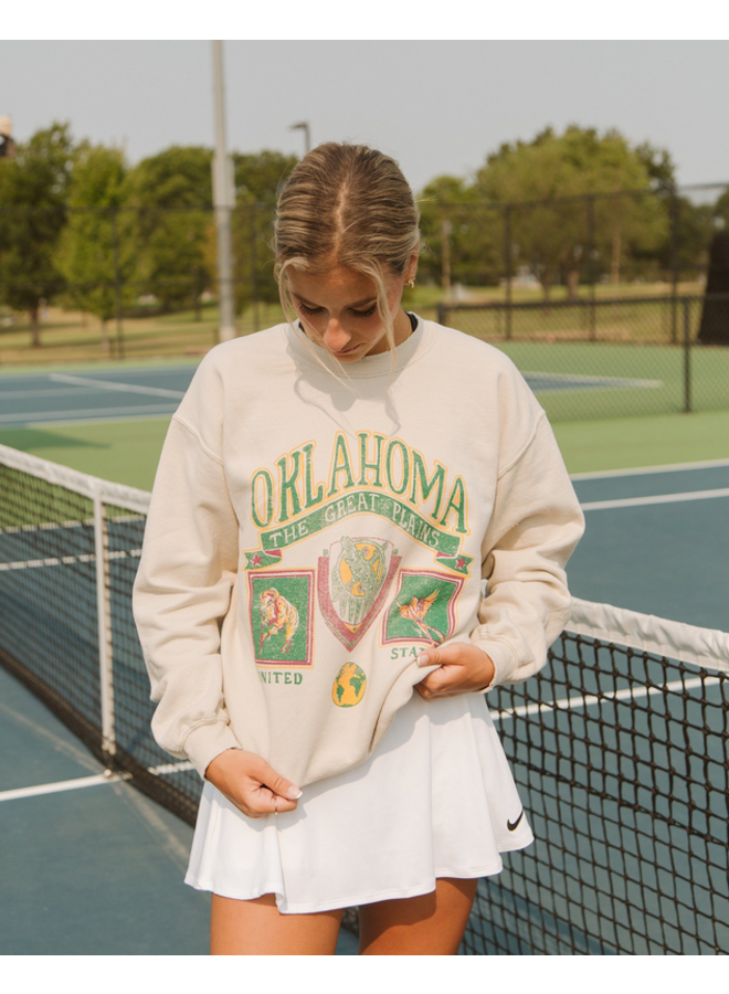 Oklahoma Patch Sweatshirt