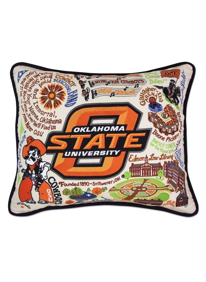 OSU Pillow Black Piping