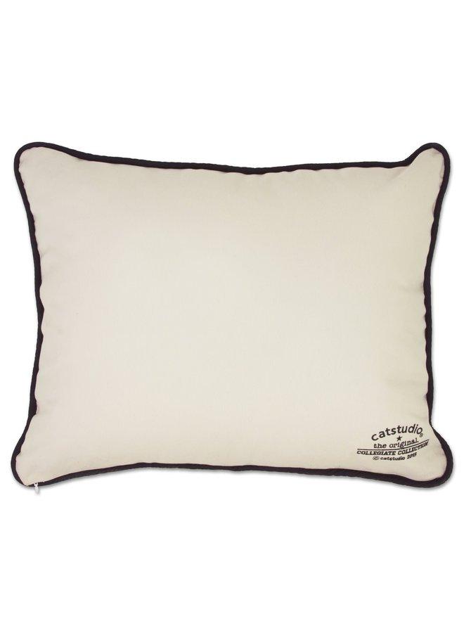 OU Pillow Black Piping