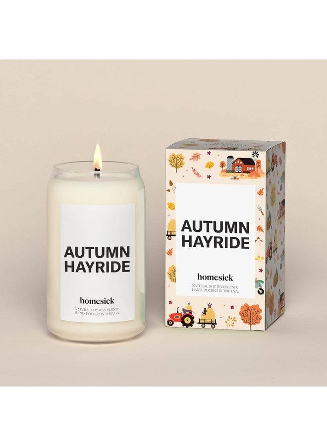 Autumn Hayride Candle