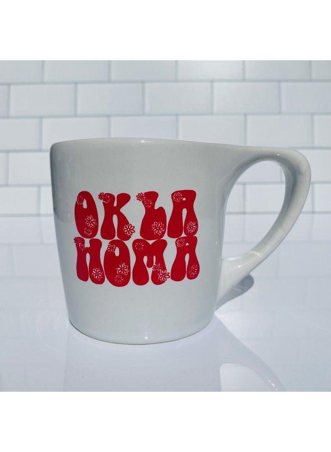 Oklahoma Flower Mug