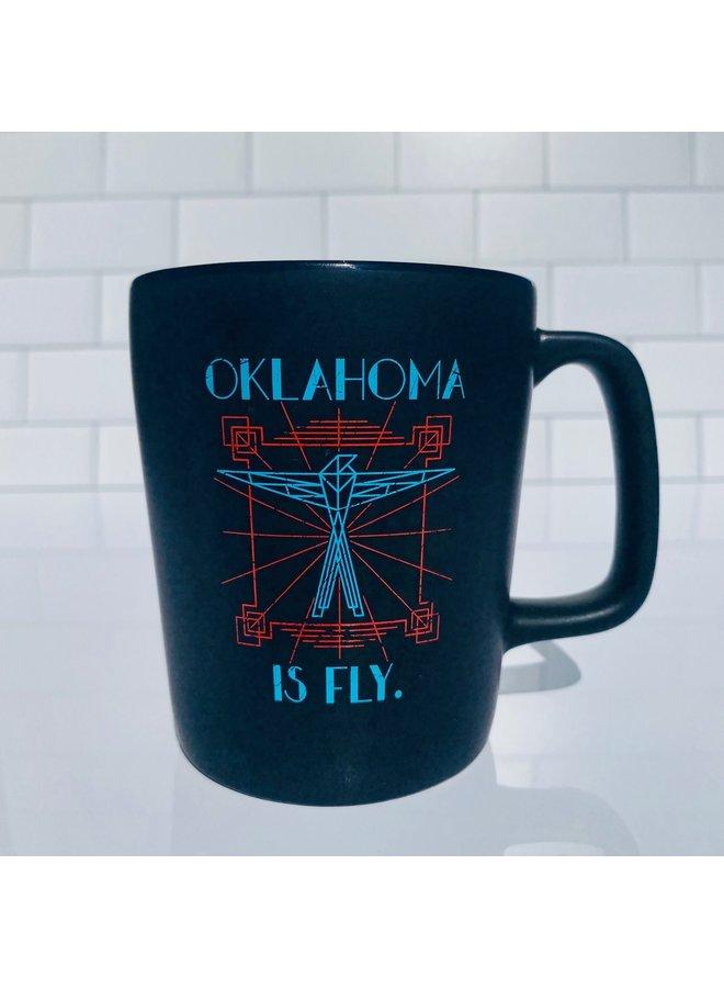 Oklahoma is Fly Mug