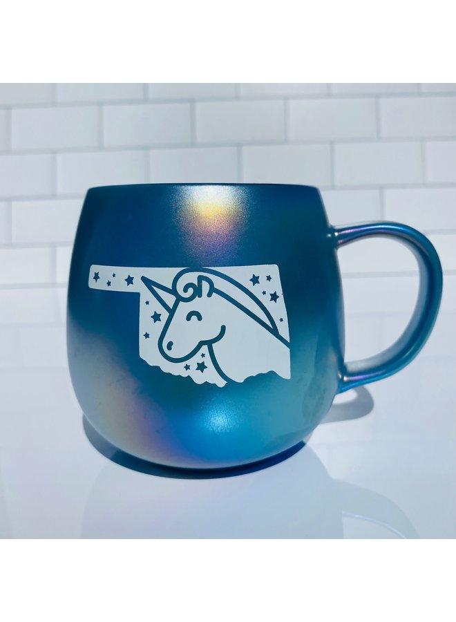 Oklahoma Unicorn Mug
