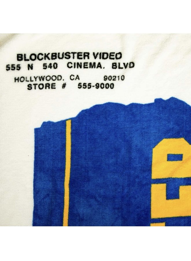 Blockbuster VHS  Fleece Throw