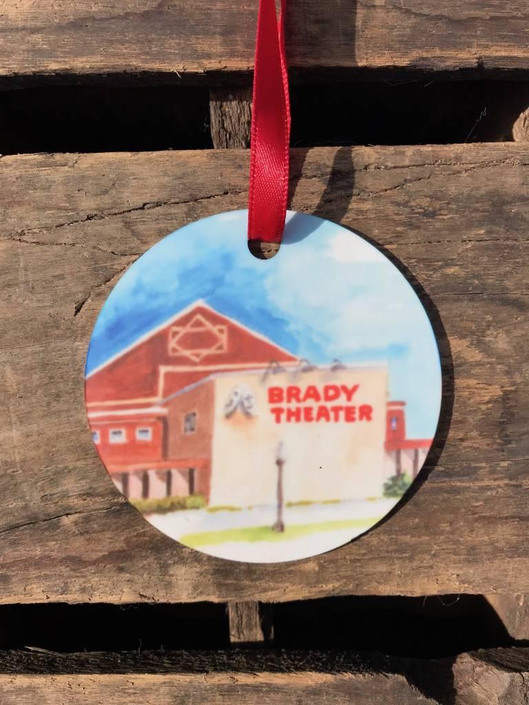 Christmas / Holiday Brady Theater Ornament