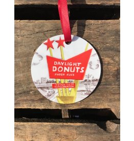 Tulsa In Ink Daylight Donuts Ornament