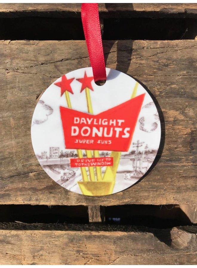 Daylight Donuts Ornament