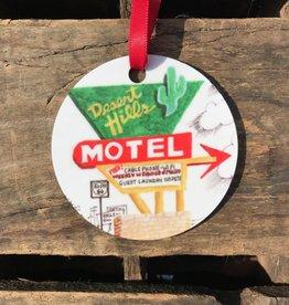 Christmas / Holiday Desert Hills Motel Ornament