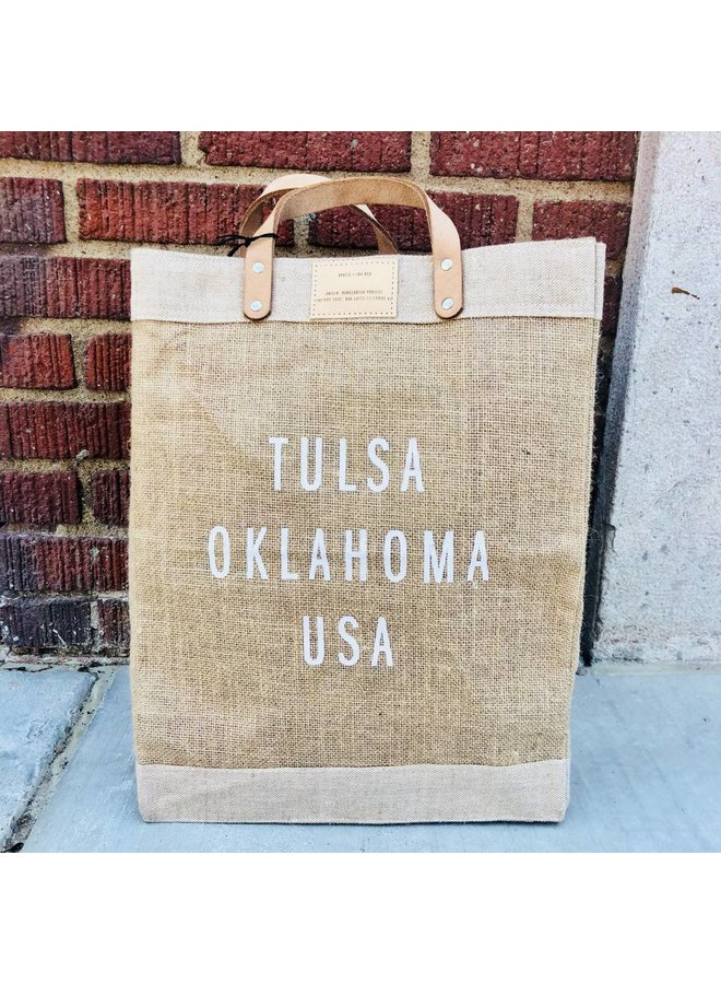 Tulsa City Market Bag