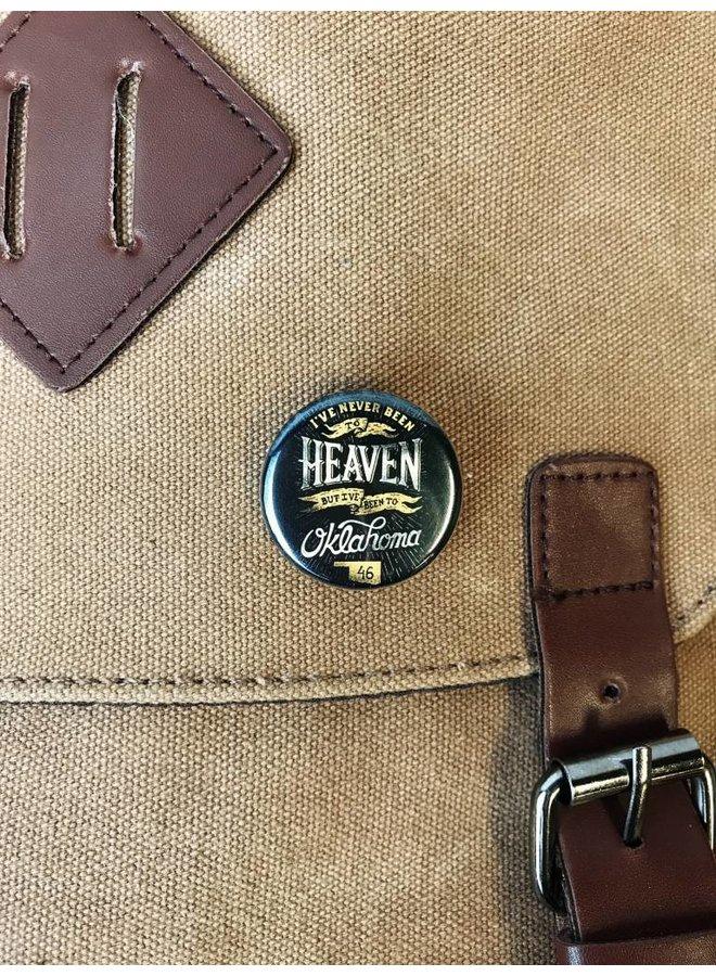 "Heaven 1.25"" Button"