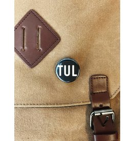 "Ida Red TUL 1.25"" Button"