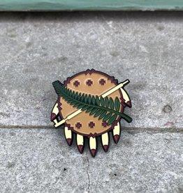 Ida Red Osage Pin