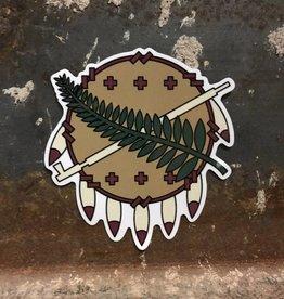Ida Red Osage Sticker