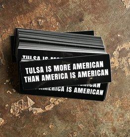 Ida Red American Tulsa Bumper Sticker