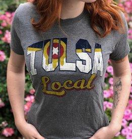 Ida Red Tulsa Local Flag Tshirt