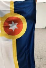 Ida Red Tulsa Flag