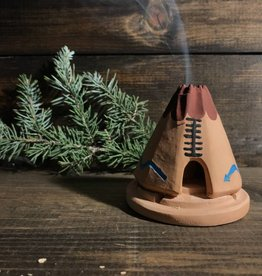 Ida Red Teepee: With Pinon Natural Wood Incense