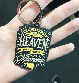 Ida Red Heaven Keychain