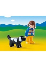 Playmobil 123 - Woman with Dog