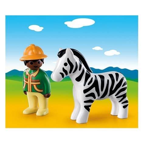 Playmobil 123 - Ranger with Zebra