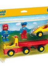 Playmobil 123 - Tow Truck with Race Car