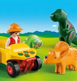 Playmobil 123 - Explorer with Dinos