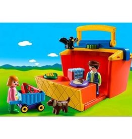 Playmobil 123 - Take Along Market Stall