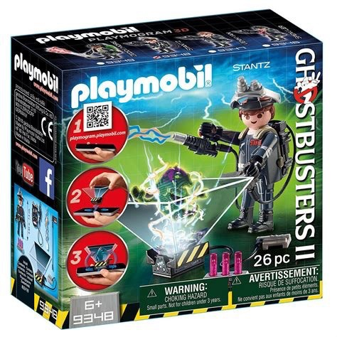 Playmobil Ghostbusters - Stantz with Ghost