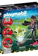 Playmobil Ghostbusters - Spengler with Ghost