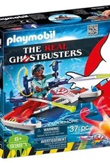 Playmobil Ghostbusters - Zeddemore with Aqua Scooter