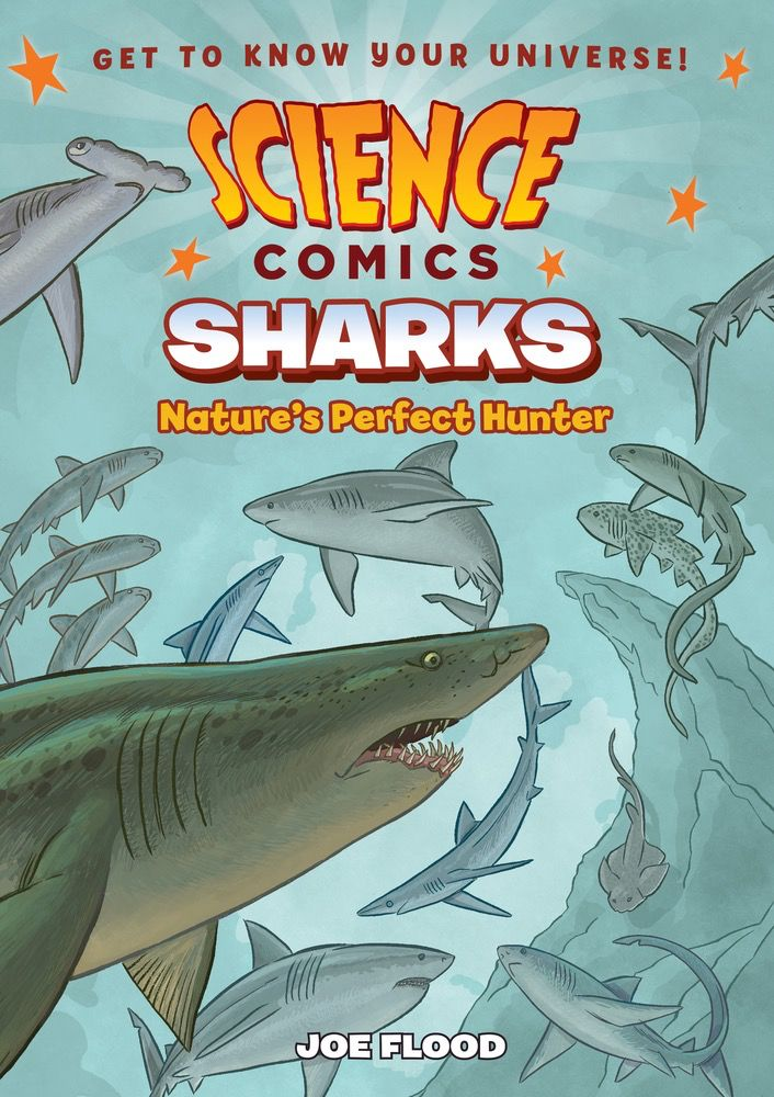 Science Comics: Sharks Nature's Perfect Hunter
