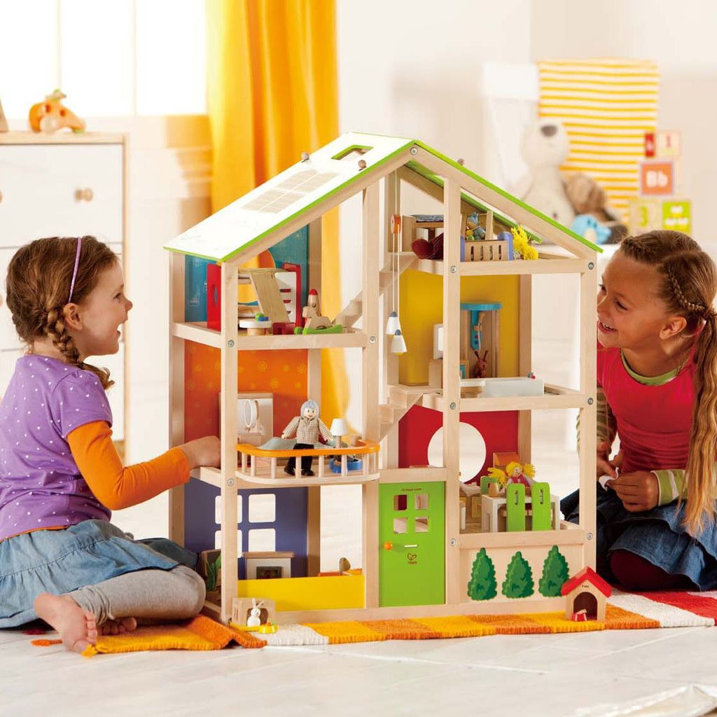 All Season Furnished Doll House