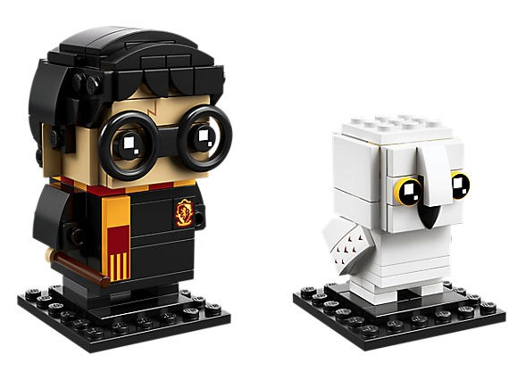 LEGO® BrickHeadz™ Harry Potter™ & Hedwig™