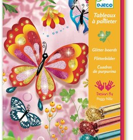 Djeco - Glitter Boards: Glittery Creatures
