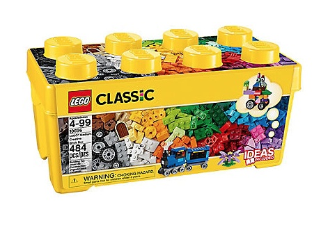 LEGO® Classic Medium Creative Brick Box 484pc