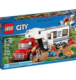 LEGO® City Pickup & Caravan