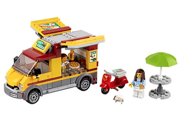 LEGO® City Pizza Van