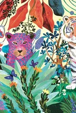 Rainbow Tigers 1000pc Puzzle by Djeco