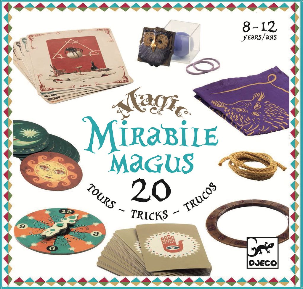 Mirabile Magus Magic Set 20 Tricks by Djeco