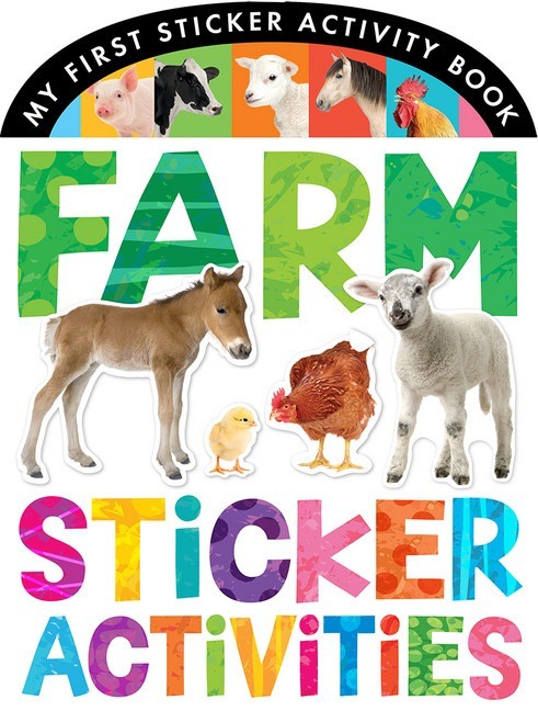 Farm Animals Sticker Activities