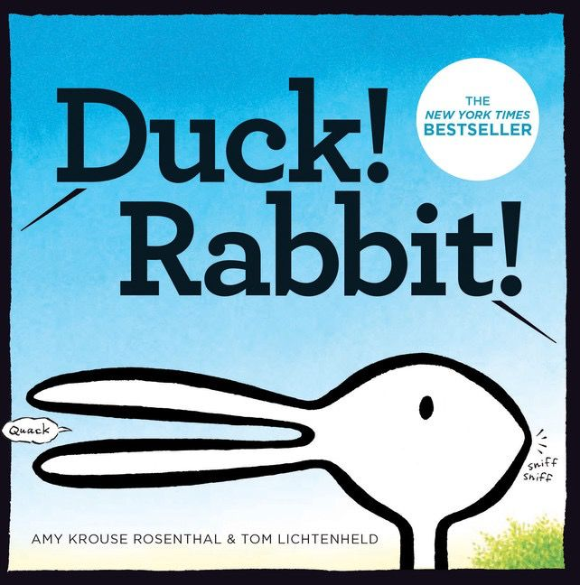 Duck!  Rabbit!  Board Book