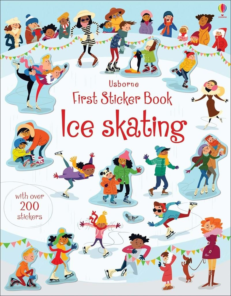 First Sticker Books: Ice Skating