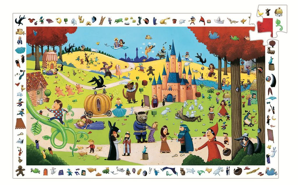 Fairy Tales 54pc Observation Puzzle