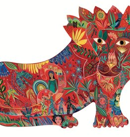 Lion 150pc Shaped Puzzle by Djeco