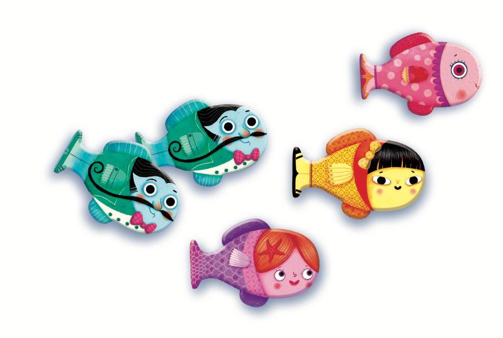 Memory Fish Game