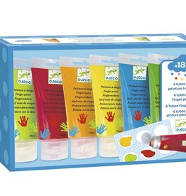 Fingerpaint 6 Tubes by Djeco