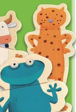 Crazy Animals Magnet Set by Djeco