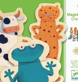 Crazy Animals Magnet Set by Djeco