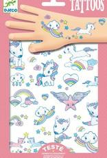 Unicorns Tattoos by Djeco