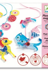 Magic Plastic (shrinky dinks) Kitten & Pony